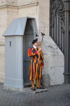 The Vatican guard