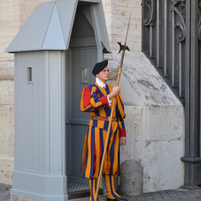 The Vatican guard