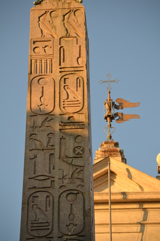 The Obelisk of Montecitorio