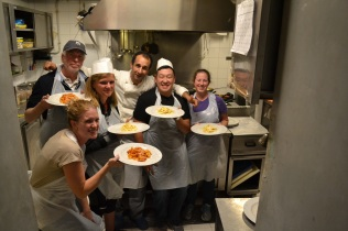Our class with the chef