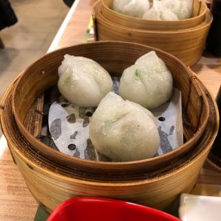 """Steamed dumplings & chiu chow style"""
