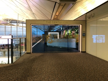 Centurion Lounge Hong Kong, Entrance