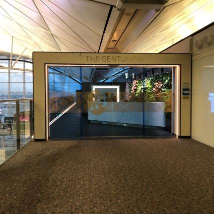 Centurion Lounge Hong Kong, Entrance