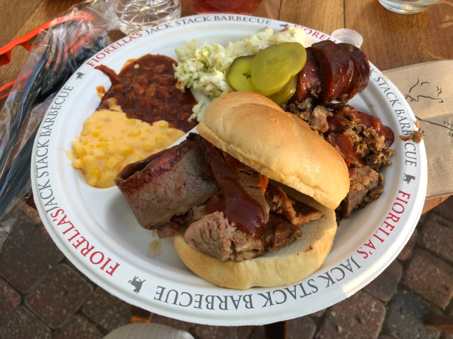 Delicious Jack Stack bbq!