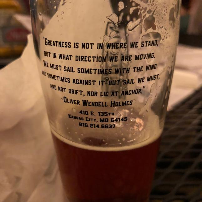 Martin City Brewery's words of wisdom