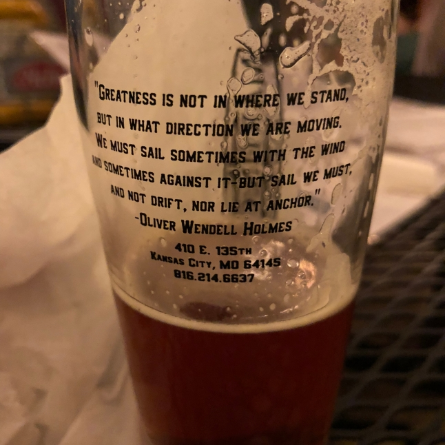 Martin City Brewery's words of wisdom