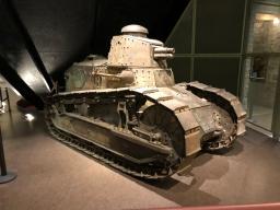 A full sized tank
