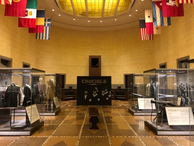The Crucible exhibit