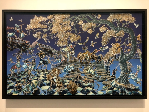 "Raqib Shaw's ""Twilight Painting II"""