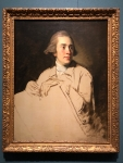 """Nathaniel Dance-Holland's """"Portrait of Jeremiah Meyer, R.A."""""""