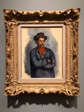"""Paul Cezanne's """"Man with a Pipe"""""""