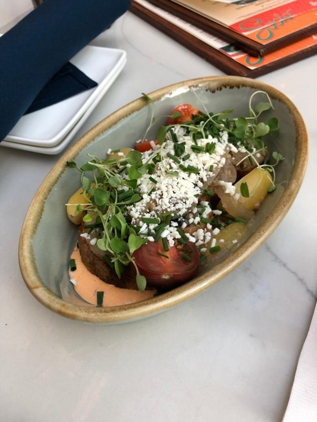 Papas Bravas (potatoes)