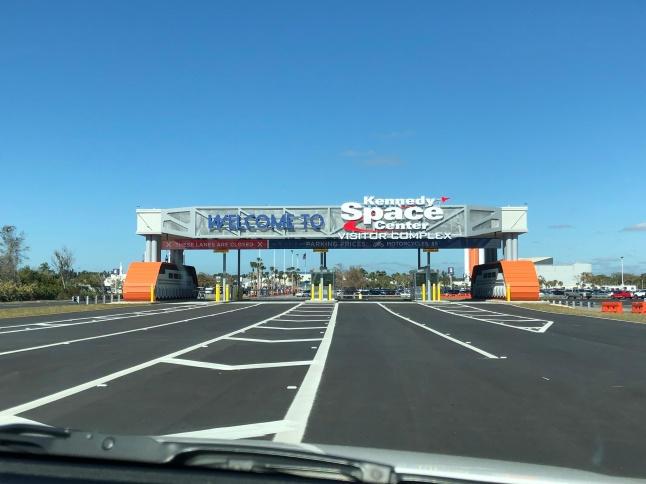 Welcome to the Kennedy Space Center!