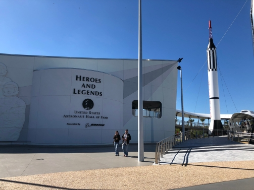 Heroes and Legends pavilion