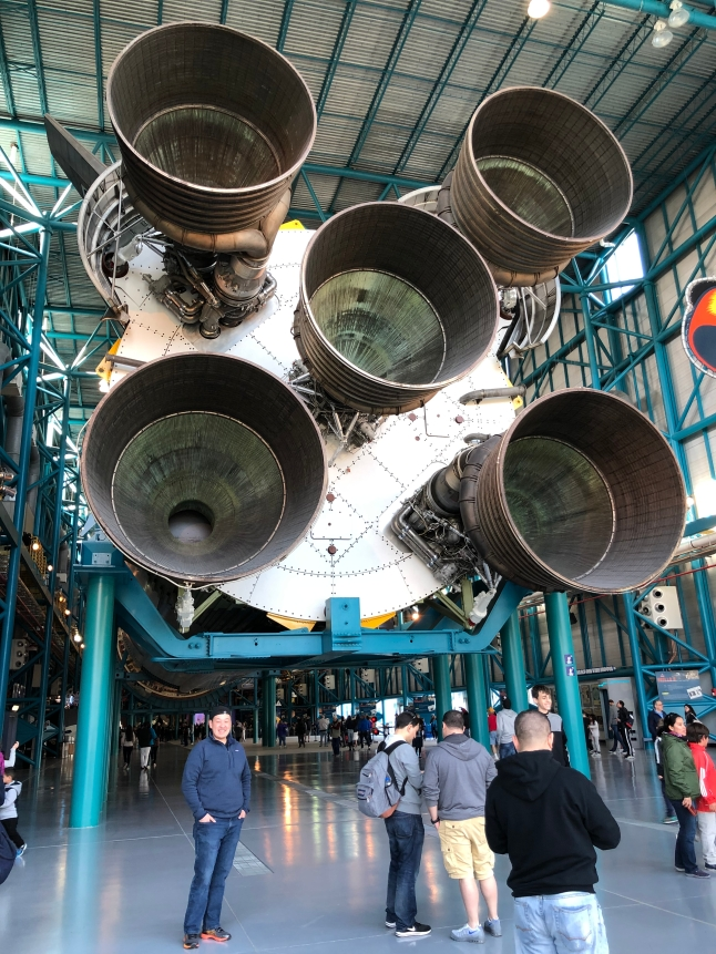 The Saturn V - with me for reference